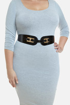 Fashion to Figure Archie Patent Stretch Belt