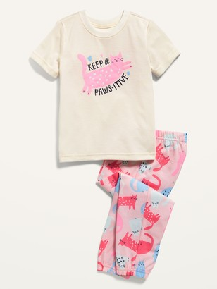Old Navy Unisex Loose-Fit Graphic Pajama Set for Toddler & Baby