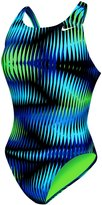 Nike Girls' Shutter Fast Back Tank One Piece Swimsuit 8144149