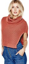 GUESS Women's Cap-Sleeve Ribbed Snood