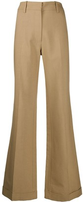 Victoria Beckham High-Rise Flared Trousers