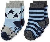 Sterntaler Baby Boys ABS-Krabbelsöckchen DP Sterne Socks,5