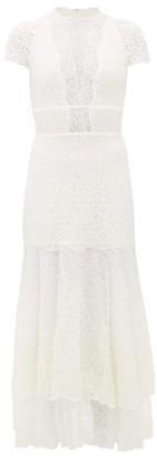Jonathan Simkhai Multimedia Mermaid-hem Lace Dress - White