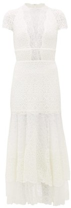 Jonathan Simkhai Multimedia Mermaid-hem Lace Dress - Womens - White