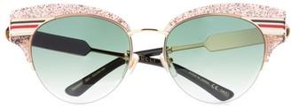 Gucci Glitter Cat Eye Sunglasses
