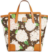 Dooney & Bourke Signature Hydrangea North South Shopper