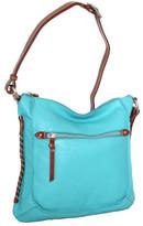 Nino Bossi Women's Carrie Leather Crossbody Bag