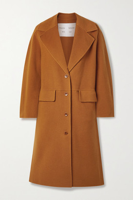 Proenza Schouler White Label Wool-blend Felt Coat - Orange