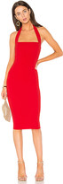 Nookie Boulevard Midi Dress in Red. - size S (also in XS)