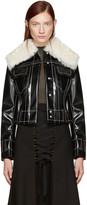 Proenza Schouler Black Coated Jacket