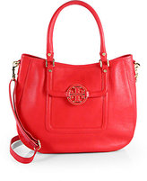 Tory Burch Amanda Classic Top-Handle Bag