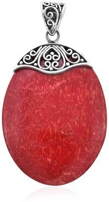 Shop Lc 925 Sterling Silver Sponge Coral Pendant