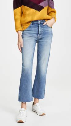 Brady Boyish The High Rise Crop Flare Jeans
