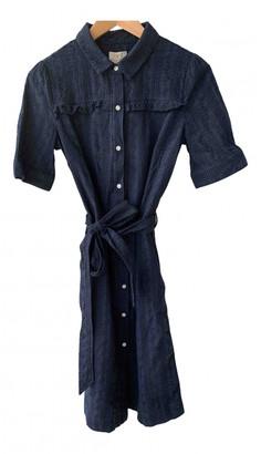 Barbour Blue Cotton Dresses