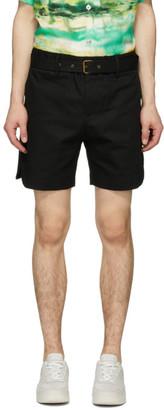 Davi Paris Black Sahara Shorts