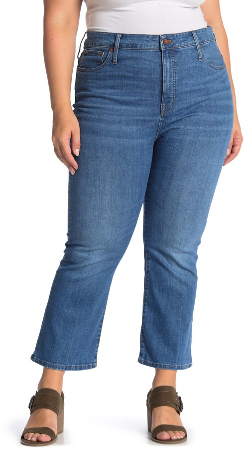 Cali Demi Bootcut Denim Jeans (Plus Size)