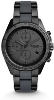Fossil Sport 54 Chronograph Black Stainless Steel Watch