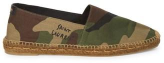 Saint Laurent Camo Espadrille Shoes