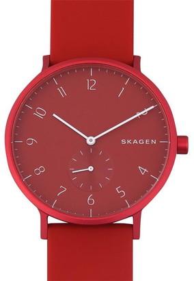 Skagen Aeren kulor Silicone Watch