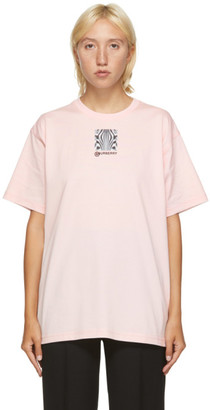 Burberry Pink Carrick Zebra Eyes T-Shirt