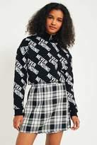 Urban Renewal Vintage Re-Made Tartan Plaid Skirt