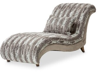 Michael Amini / Kathy Ireland Home Designs Romance Chaise Lounge
