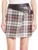 McQ by Alexander McQueen Mini Wrap Skirt