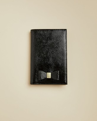 Ted Baker Bow Leather Passport Holder