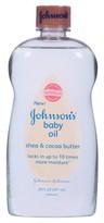 Johnson & Johnson Johnson's Baby Oil - Shea & Cocoa (20-oz.)