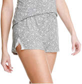 Joe Fresh Unisex Lace Accent Sleep Short, Print 1 (Size S)