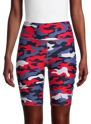 Calvin Klein Camo Bike Shorts