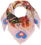 Mary Katrantzou Heart Flames Modal and Cashmere Wrap
