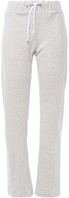 Wildfox Couture Melange Cotton-blend Fleece Track Pants