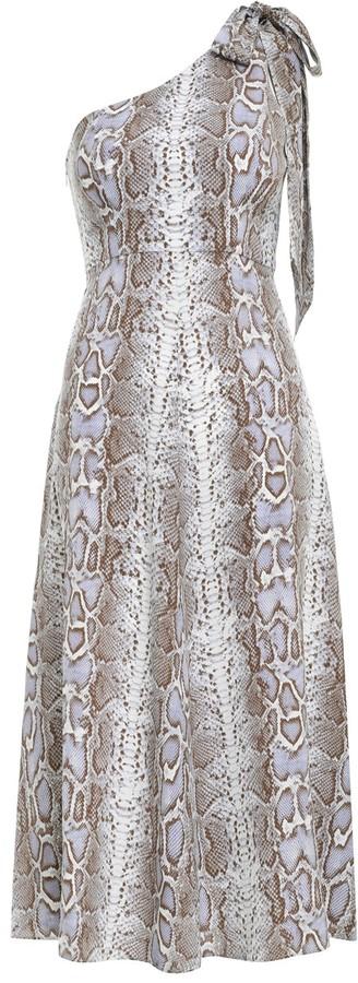 Zimmermann Silk Tie Picnic Dress