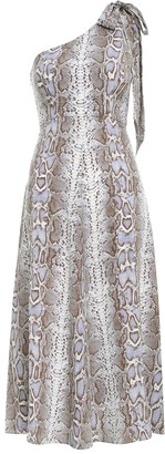 Zimmermann Silk Tie Picnic Dress