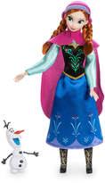 Disney Anna Classic Doll with Olaf Figure - 11 1/2''