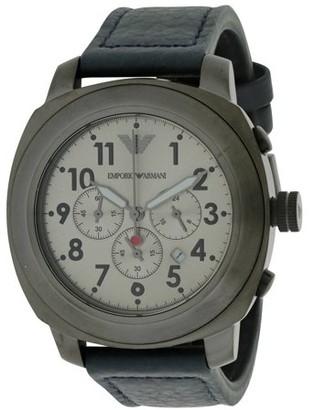 Emporio Armani Men's Emporio Sport Leather Watch AR6086