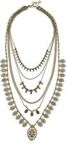 Lucky Brand Gold-Tone Major Layer Necklace