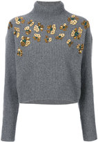 MSGM embellished jumper - women - Polyamide/Wool - S