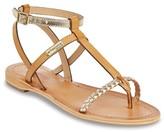 Les Tropéziennes PAR M.BELARBI Hilatres Flat Leather Sandals