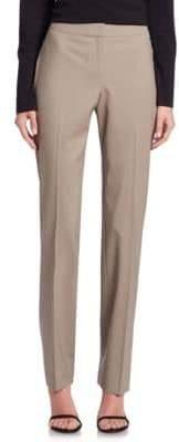 Lafayette 148 New York Barrow Finite Italian Flannel Pants