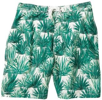 Trunks Surf And Swim Co. Swami Palm Print Swim Shorts