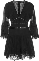 Thakoon Lace Ruffled Playsuit