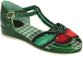 Miss L Fire Green Cherry Sandal