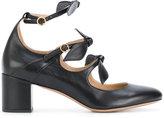 Chloé Mike multi-strap pumps - women - Leather - 35