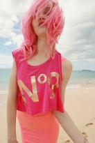 Wildfox Couture No. 9 Cropped Tank in Malibu Pink