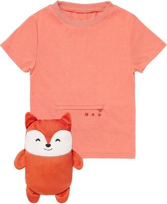 Cubcoats Flynn the Fox 2-in-1 Stuffed Animal T-Shirt