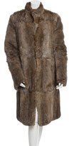 Gucci Reversible Fur & Ponyhair Coat