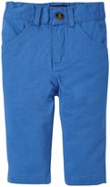 Andy & Evan Twill Pants (Baby) - Blue 18-24 Months