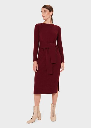 Hobbs Teagan Knitted Dress With Cashmere